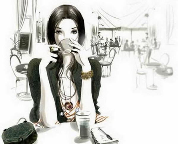 В кафе после работы
