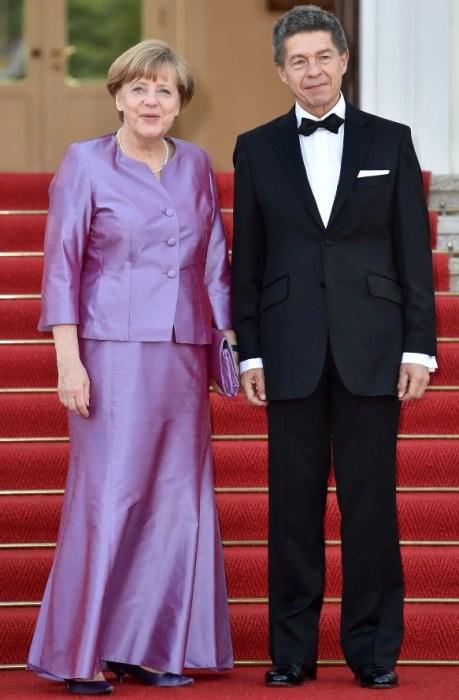 Ангела Меркель и Иоахим Зауэр. / Фото: www.pinterest.ru